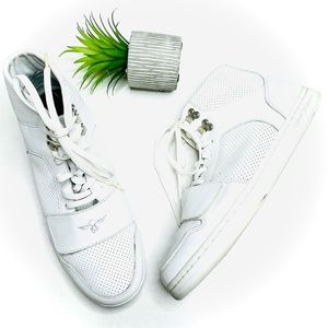 Creative Recreation Cesario White Leather Sneakers